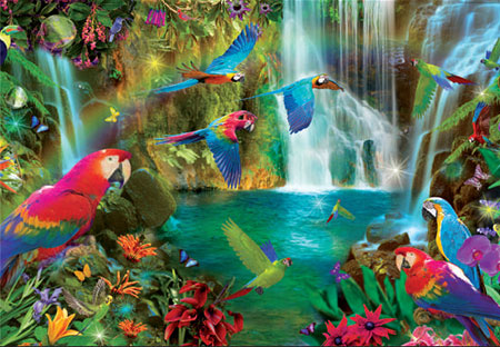 tropische-papageien