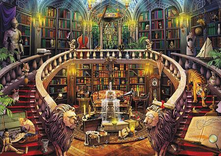 Enigmatic Puzzle - Alte Bibliothek