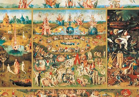 Der Garten der Lüste, Bosch