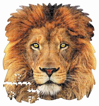 Löwenporträt