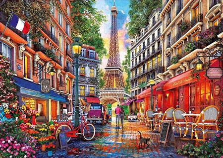 Paris, Davison