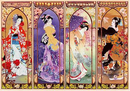 Japanische Collage