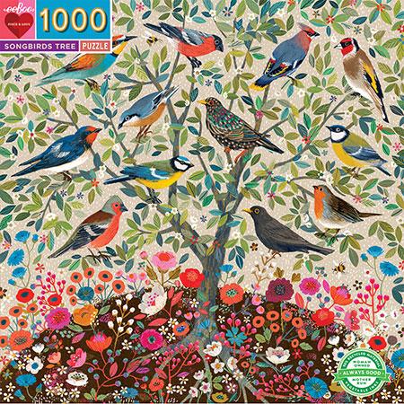 Baum voller Singvögel