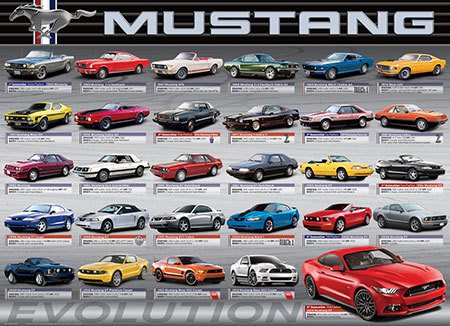 Ford Mustang Evolution 50th Anniversary