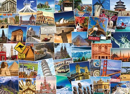 Weltreise - Reiseziele der Welt