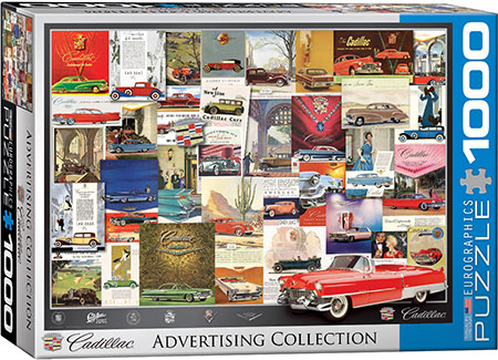 Alte Cadillac - Werbeplakate