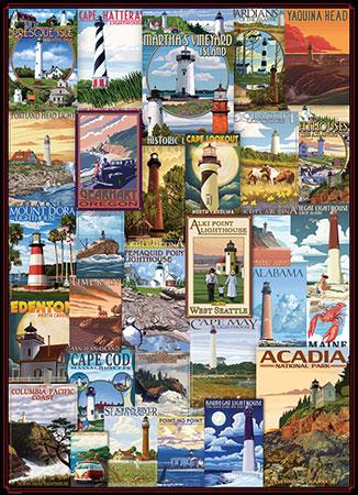 Alte Leuchturm - Werbeplakate