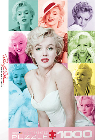 eurographics 6000 0811 marilyn monroe bunte portraits. Black Bedroom Furniture Sets. Home Design Ideas