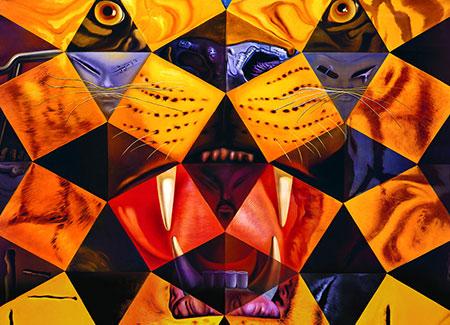 50 abstrakte Bilder, Dali