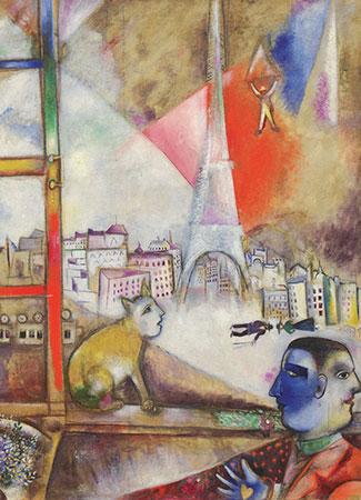 Paris through the Window, Chagall