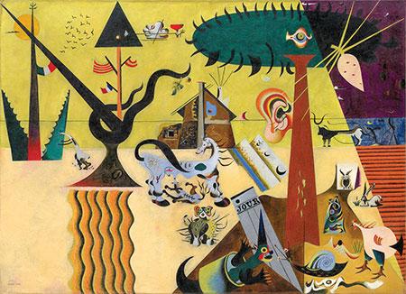 Gepflügte Erde, Miró