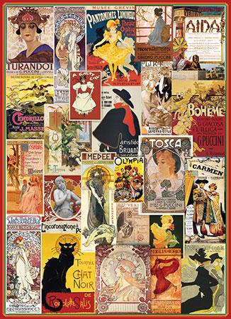 Theater und Oper Werbeplakate