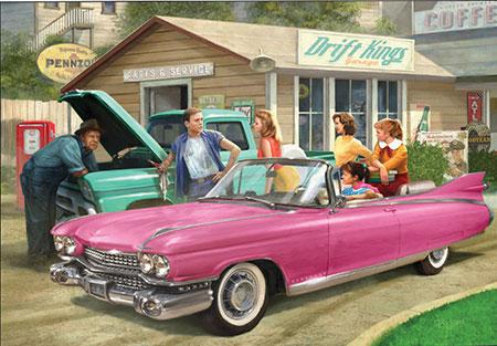 mit-dem-pinken-caddy-unterwegs