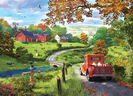 Reise zum Bauernhof