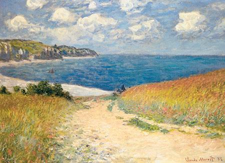Monet - Chemin dans les Bles