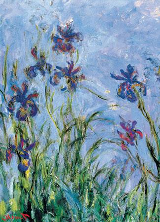 monet-irises