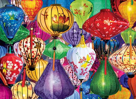 Asiatische Lampions