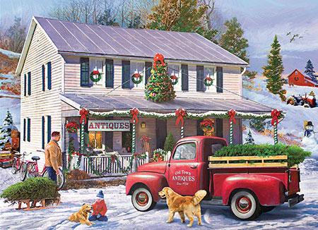 Nostalgisches Weihnachtsgeschäft