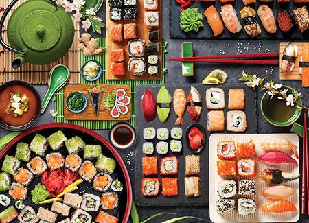 Sushi Tisch