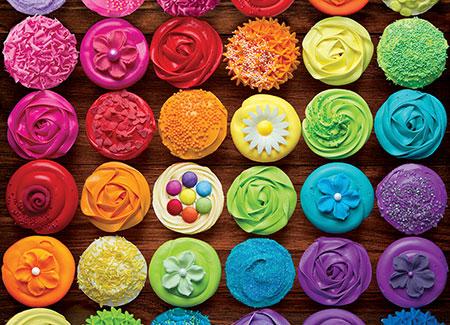 Cupcake Regenbogen