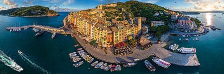 360° Blick auf Porto Venere