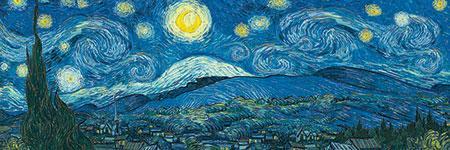 Die Sternennacht, van Gogh
