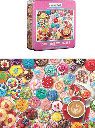 Cupcake Party - in schicker Metalldose