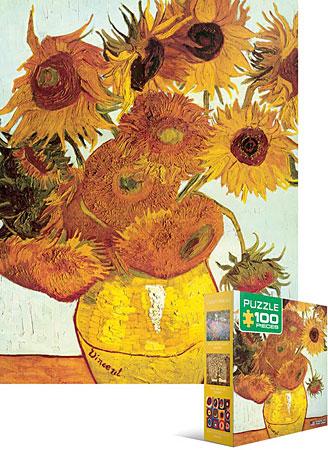 12 Sonnenblumen von Van Gogh