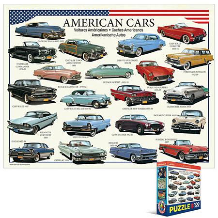 Amerikanische Autos der 50er