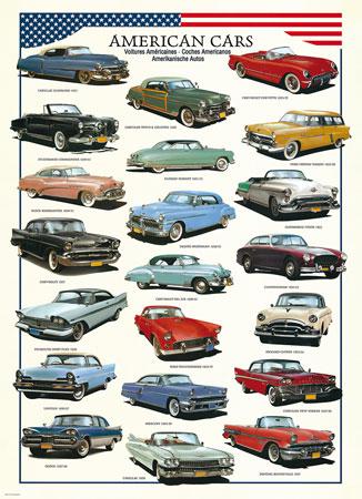 Amerikanische Autos der 50er Jahre