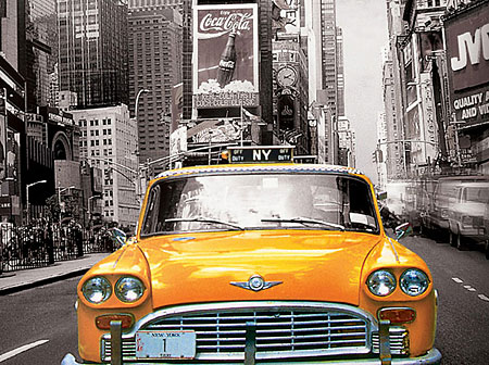 new-york-city-gelbes-taxi