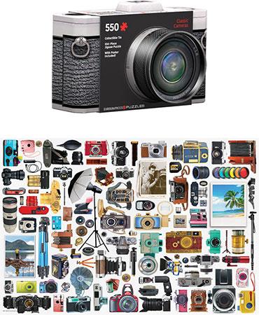 Klassische Kamera (in schicker Formdose)