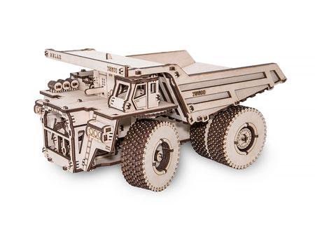 3D Holzpuzzle - EWA - Kipplaster BELAZ 75600