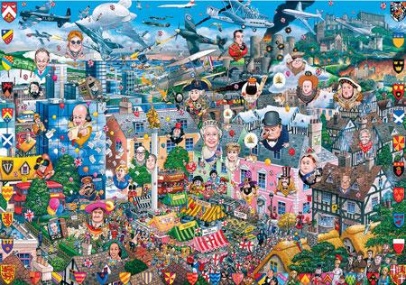 Puzzle & Postkarten - Mike Jupp