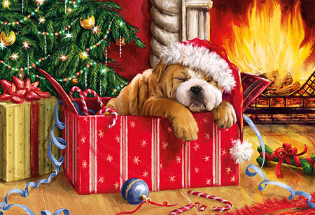Verträumte Weihnacht
