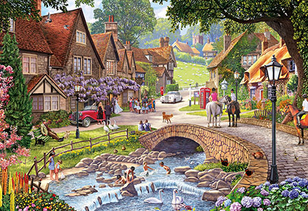 Hochzeit im Dorf
