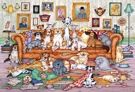 Entspanntes Hundeleben