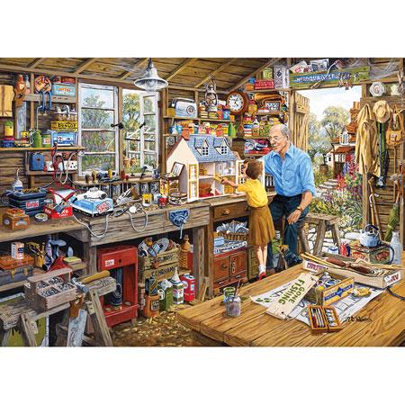 Großvaters Werkstatt