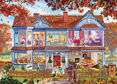 Zuhause im Herbst