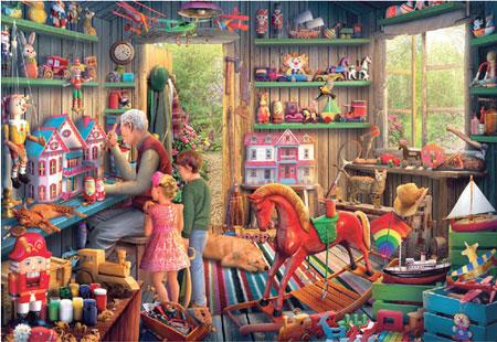 Beim Spielzeugmacher