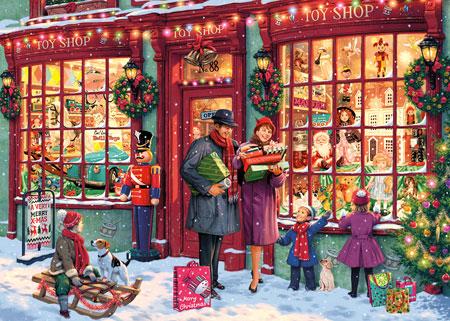Weihnachtlicher Spielzeugladen