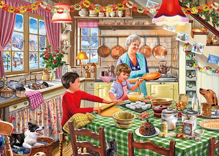 Oma´s Weihnachtsbäckerei
