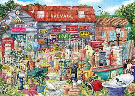 Auf dem Trödelmarkt
