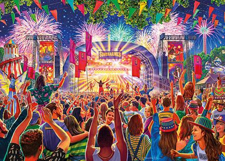 Festival Stimmung