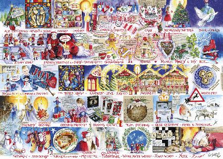 Weihnachts-Alphabet