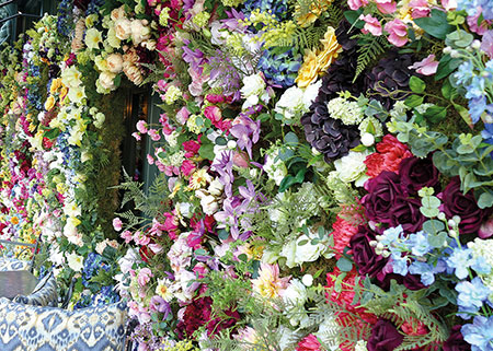 Bunte Farben des Frühlings