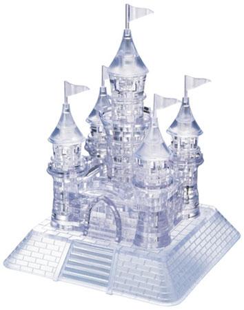 3D Kristallpuzzle - Schloss