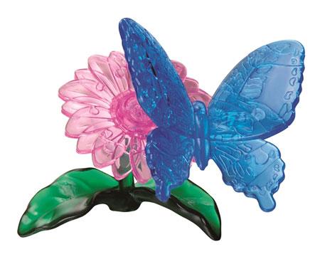 3D Kristallpuzzle - Schmetterling