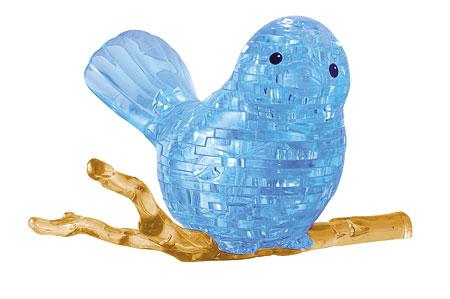 3D Kristallpuzzle - Vogel