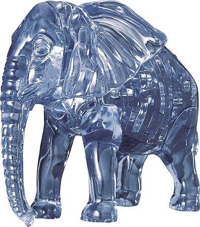 3D Kristallpuzzle - Elefant
